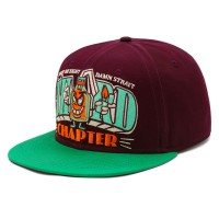 rkd x third chapter flat brim 6 panel snapback