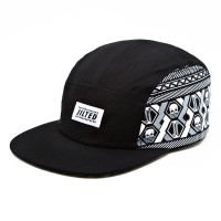 RKD x Jilted Royalty flat brim 5 panel camp cap