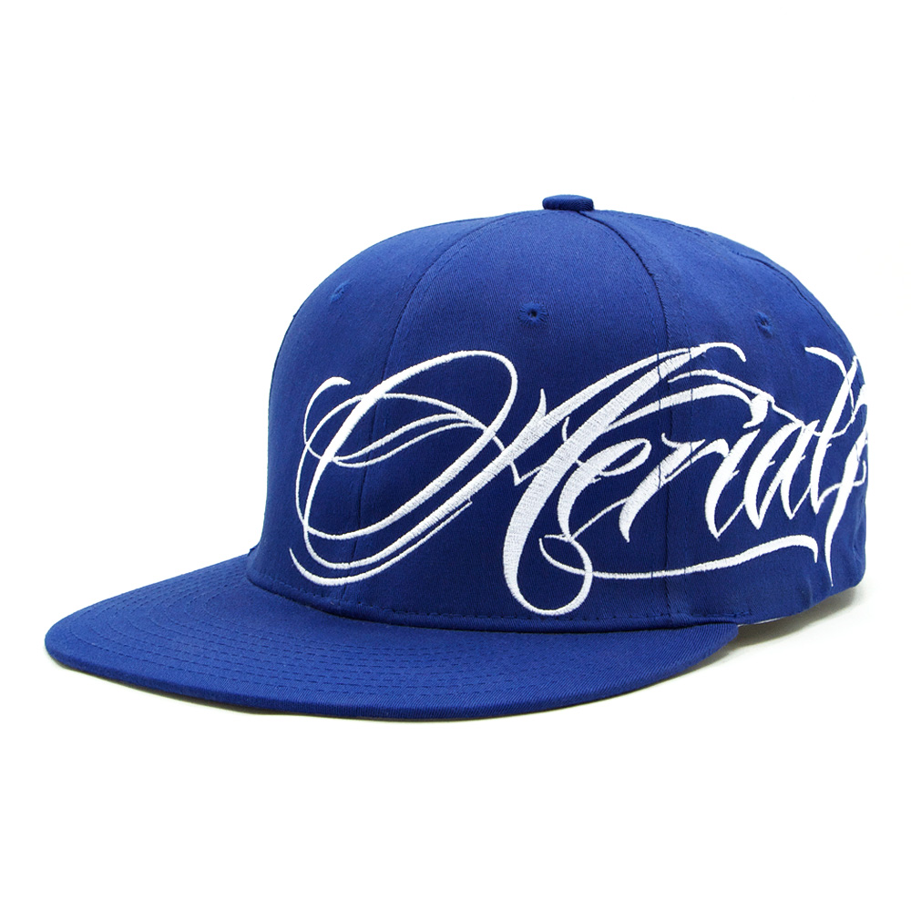 rkd x aerial 7 flat brim 6 panel stretch band | RKD Co