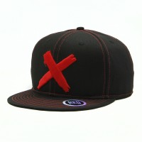 rkd x end it movement flat brim 6 panel snapback