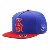 rkd x kid mac flat brim 5 panel snapback