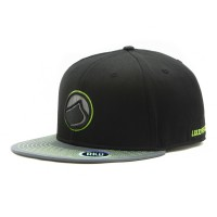 rkd x liquid force flat brim 6 panel snapback