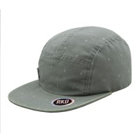 rkd x vues flat brim 5 panel camp cap