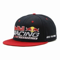 rkd x red bull racing flat brim 6 panel snapback