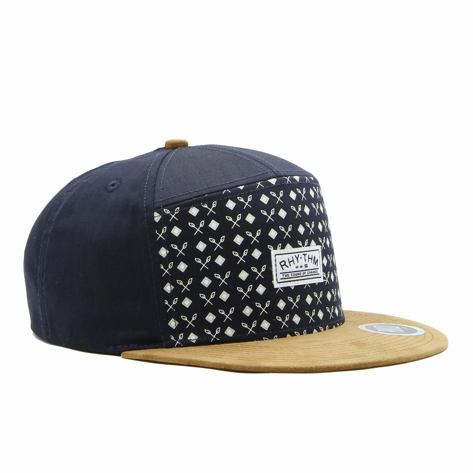 rkd x rhythm flat brim 7 panel camp cap | RKD Co  | Custom