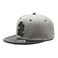 rkd x twelve leather flat brim 6 panel snapback
