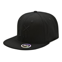 rkd x al.in.array flat brim 6 panel snapback